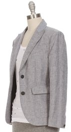 Rag and Bone RAG & BONE Nancy Linen Stripe Blazer