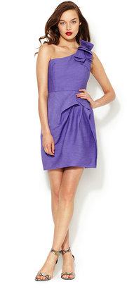 BCBGMAXAZRIA Audrey One Shoulder Dress