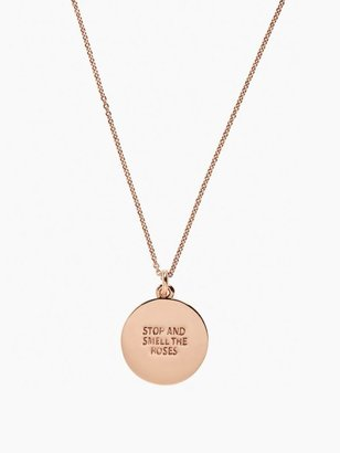 Kate Spade Stop And Smell The Roses Pendant