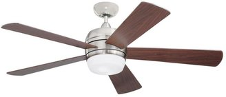 Emerson Atomical 52 in. Indoor / Outdoor Brushed Steel Ceiling Fan