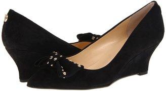 Ivanka Trump Norah (Black Suede) - Footwear