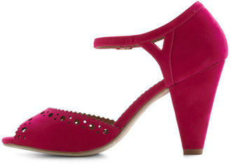 Restricted On the Bright Stride Heel