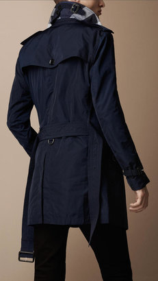 Burberry Lightweight Technical Fabric Packaway Trench Coat