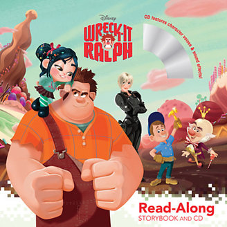 Disney Wreck-It Ralph Read-Along Storybook and CD