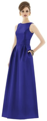 Alfred Sung - D661 Bridesmaid Dress in Electric Blue $242 thestylecure.com