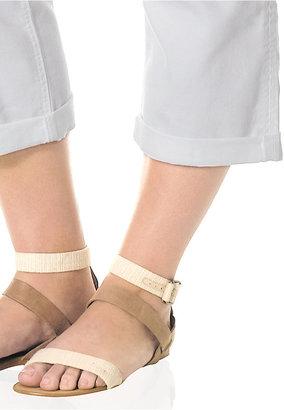 Silver Jeans Plus Size Suki Capri Jeans, White Wash