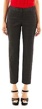 JCPenney Worthington® Patterned Ankle Pants