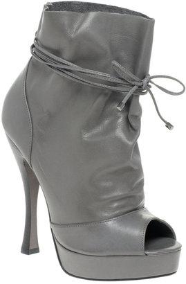 Carvela Sport Platform Heeled Tie Ankle Boots