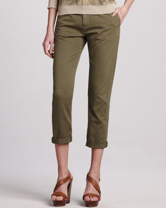 Current/Elliott The Buddy Cropped Trousers
