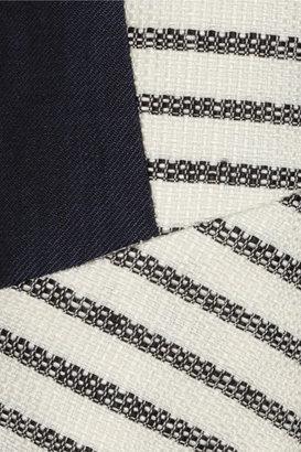 By Malene Birger Etioloa striped woven jacket