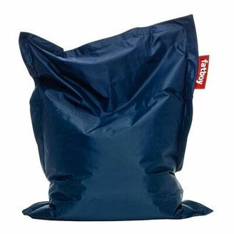 Fatboy Junior Extra Large Bean Bag Chair Fabric: Blue