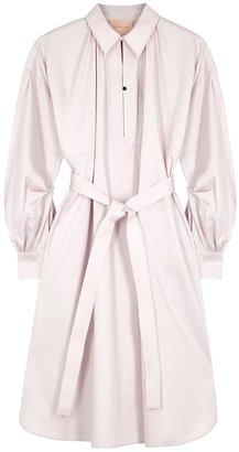 Roksanda Simina Light Pink Cotton Shirt Dress
