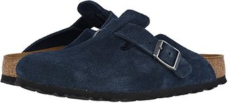 Birkenstock Boston Soft Footbed (Unisex) (Night Suede) Clog Shoes