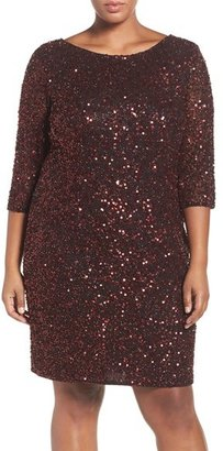 Pisarro Nights Draped Back Beaded Dress $198 thestylecure.com