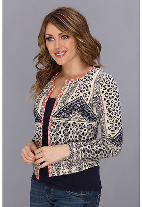 Lucky Brand All-Over Print Jacket