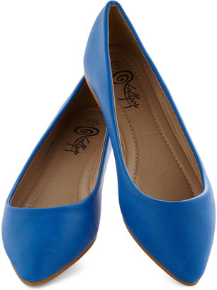 Defined the Scenes Flat in Royal Blue
