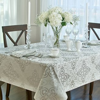 "Waterford Rosemarie"" Tablecloth, 70"" x 126"""