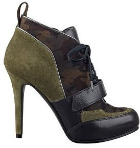 GUESS Davette Lace-Up Booties
