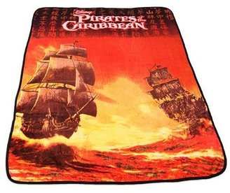 Disney Pirates Of the Caribbean Fleece Throw, Multicolor