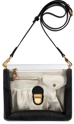 Marc by Marc Jacobs Black Leather/PVC Crossbody Bag