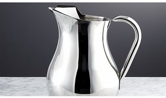 Crate & Barrel Stainless Pitcher