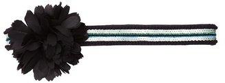 LOFT Sequin Stretch Flower Belt