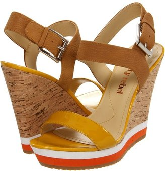 Luxury Rebel Dani (Mustard Patent/Leather) - Footwear
