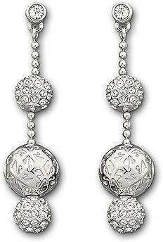Swarovski Signature Pierced Earrings