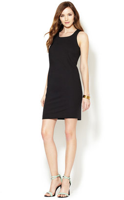 French Connection T-Sadie Drape Jersey Dress