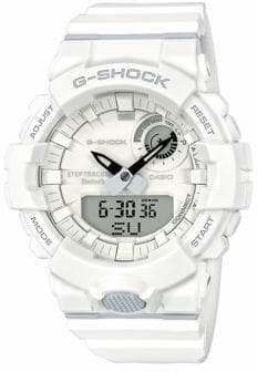 Casio Mens White Multi-Function G Shock Step-Tracker GBA800 Watch