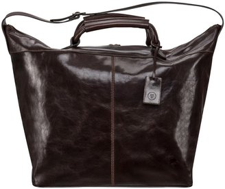 Maxwell Scott Bags High Quality Leather Brown Luxury Travel Bag