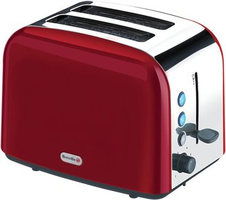 Breville Red Stainless Steel 2 Slice Toaster