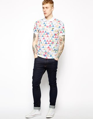Lyle & Scott Polo with Geometric Print