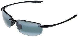 Maui Jim Ho'okipa Reader Asian Fit 1.50 (Gloss Black/Neutral Grey) Sport Sunglasses