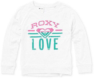 Roxy Kids Shirt, Little Girls Graphic Raglan Long-Sleeved Tee