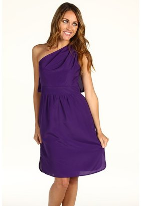 Vince Camuto One Shoulder Party Dress VC2X1350 (Acai) - Apparel
