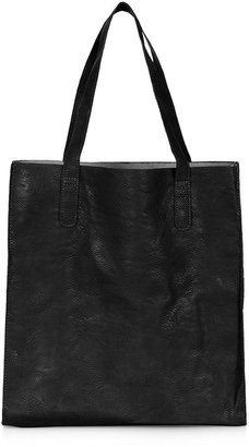 Topshop PU Shopper Bag