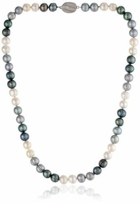 """Honora Tuxedo"""" Freshwater Cultured Pearl Necklace"""