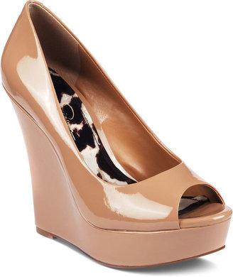 Jessica Simpson Shoes, Flower Platform Wedges