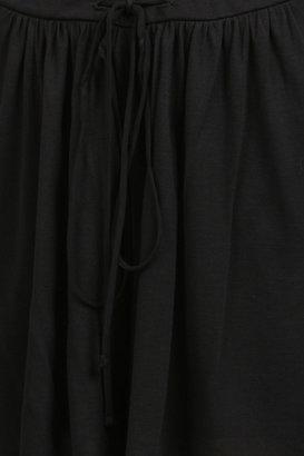 Bella Luxx Palazzo Short in Black