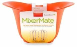 Swissmar MixerMateTM 3-Quart Capacity Mixing Bowl in Orange