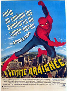 Spiderman Julia Santen Gallery Spider Man Strikes Back Poster