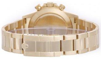excellent (EX) Rolex Cosmograph Zenith Daytona Series Men's 18k Yellow Gold Automatic Watch 16528
