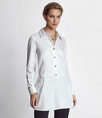 Adrienne Vittadini Tunic-Tail Shirt