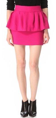 Milly Laurel Peplum Skirt