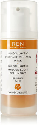 REN Skincare - Glycol Lactic Radiance Renewal Mask, 50ml - one size $55 thestylecure.com