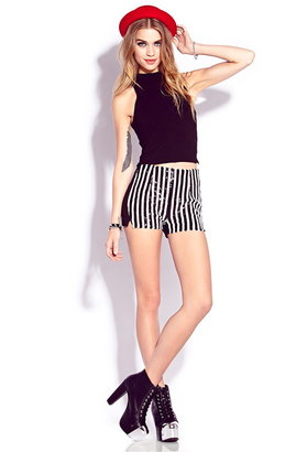 Forever 21 Standout Sequined Shorts