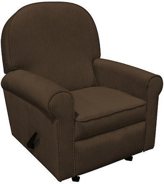 NEW Corp Newco Jayden Upholstered Recliner - Chocolate Chenille