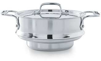 All-Clad Stainless-Steel Steamer Insert with Lid