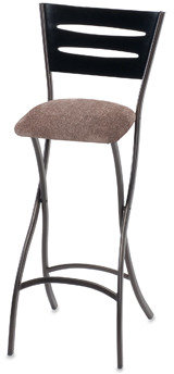 "Bed Bath & Beyond Wood and Metal 29"" Folding Pub Stool"